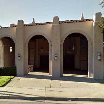Glendale Civic Auditorium - Street View